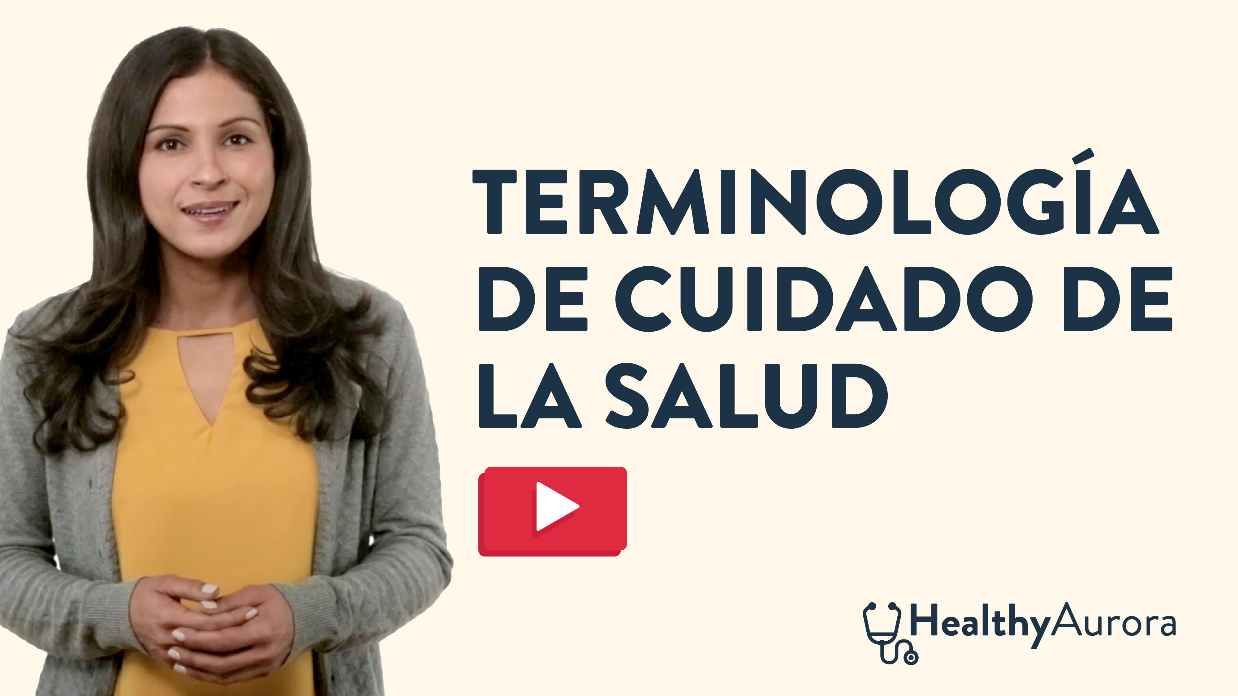 Terminologia Acerca de la Atencion Medica